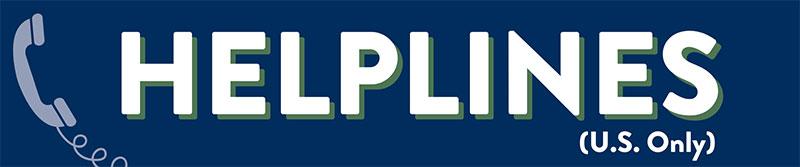 Helplines - Section Header