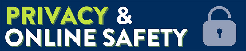 Privacy & Online Safety - Section Header